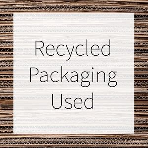 Other - Some items shipped in reused envelopes or boxes.